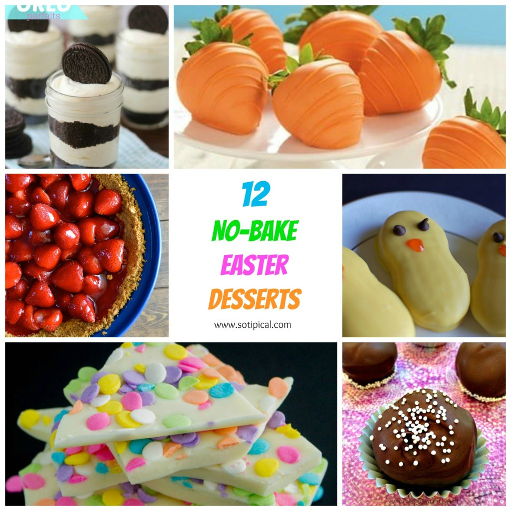Simple Easter Desserts  12 No Bake Easter Desserts