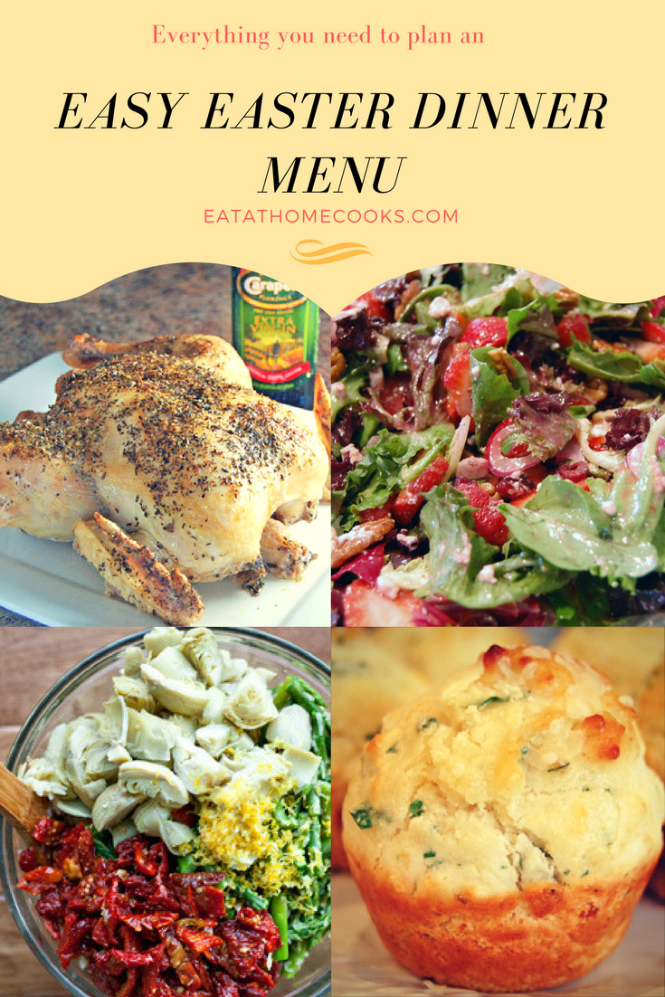 Simple Easter Dinner  Everything you need for an amazing and easy Easter Dinner