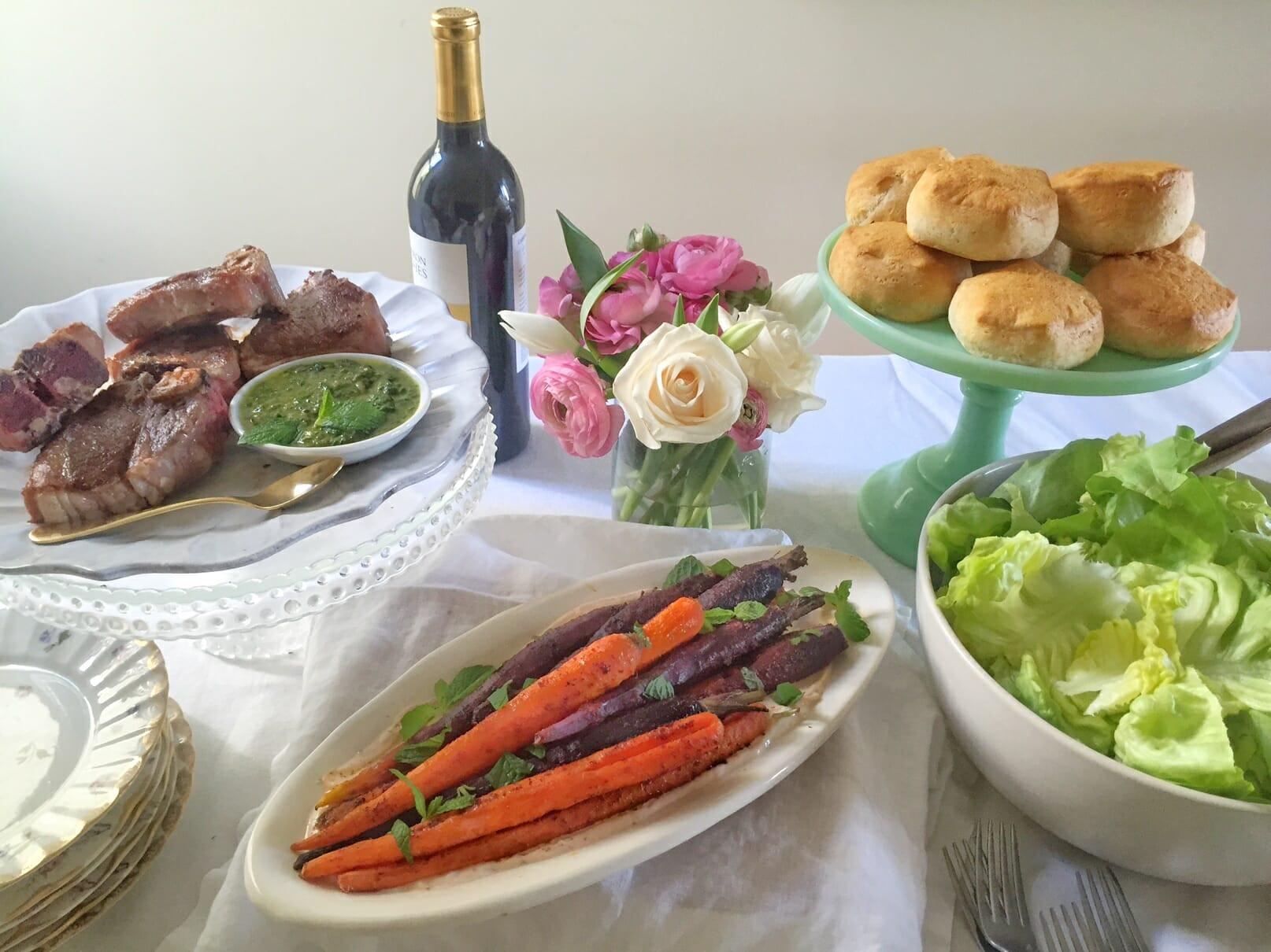 Simple Easter Dinner  Easy Easter Menu