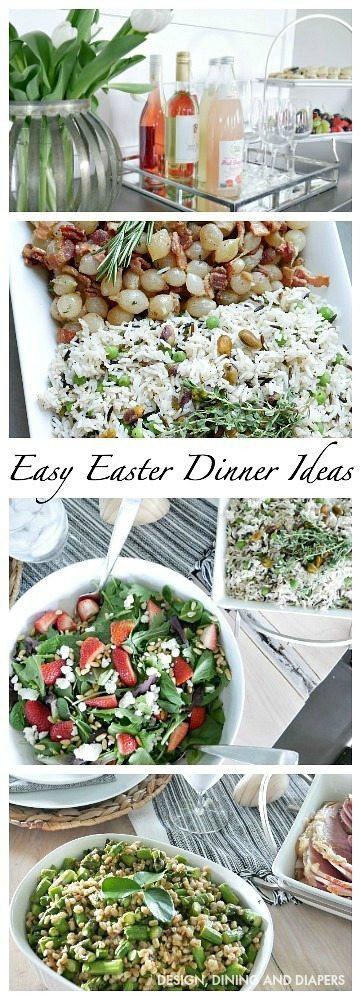 Simple Easter Dinner Ideas  Easy Easter Dinner Ideas Taryn Whiteaker
