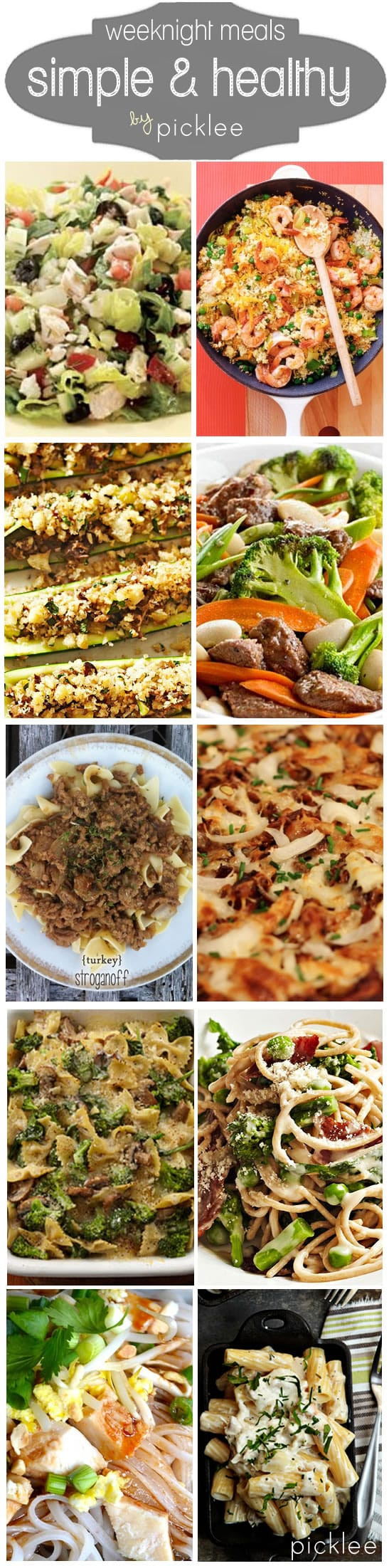 Simple Easy Healthy Dinners  10 Simple & Healthy Weeknight Dinners [recipes] Picklee