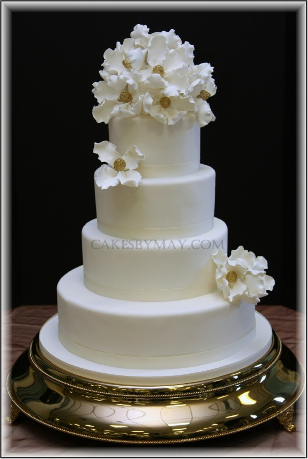 Simple Elegance Wedding Cakes  Cakes by Maylene Simple Elegance