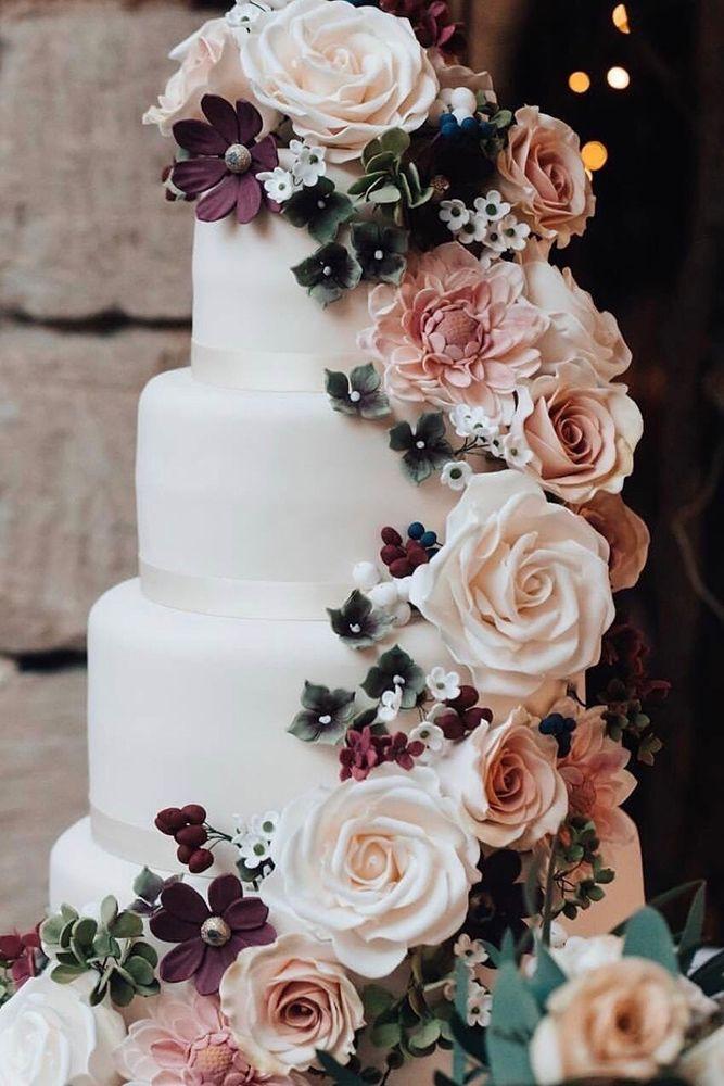 Simple Elegance Wedding Cakes  33 Simple Elegant Chic Wedding Cakes