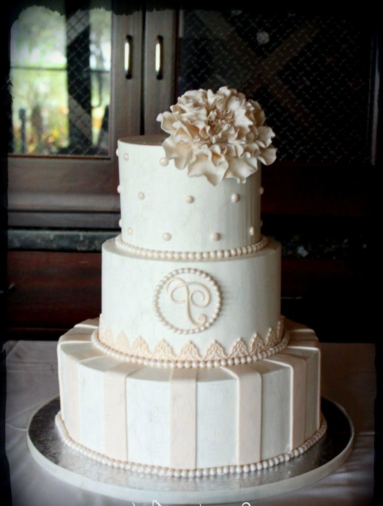Simple Elegance Wedding Cakes  Elegant simple wedding cakes idea in 2017