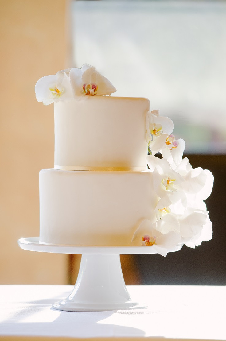 Simple Elegance Wedding Cakes  Top 10 Ways You Can Save Money Your Wedding Top Inspired