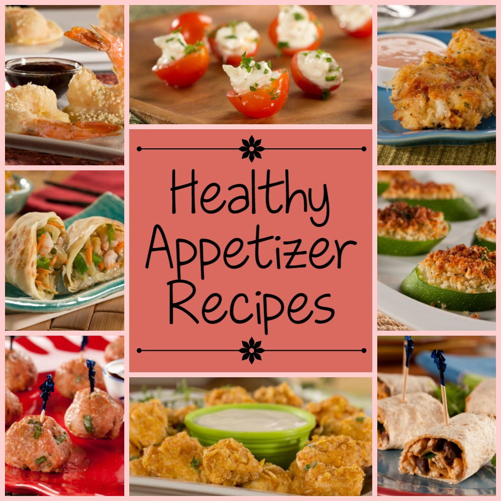 Simple Healthy Appetizers  Super Easy Appetizer Recipes 15 Healthy Appetizer Recipes