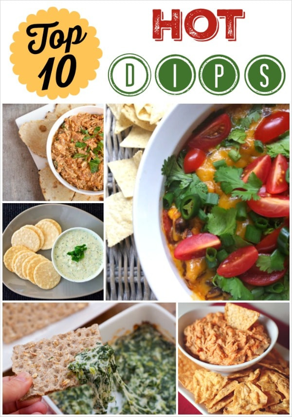 Simple Healthy Appetizers  Top 10 Healthy Hot Appetizer Dips