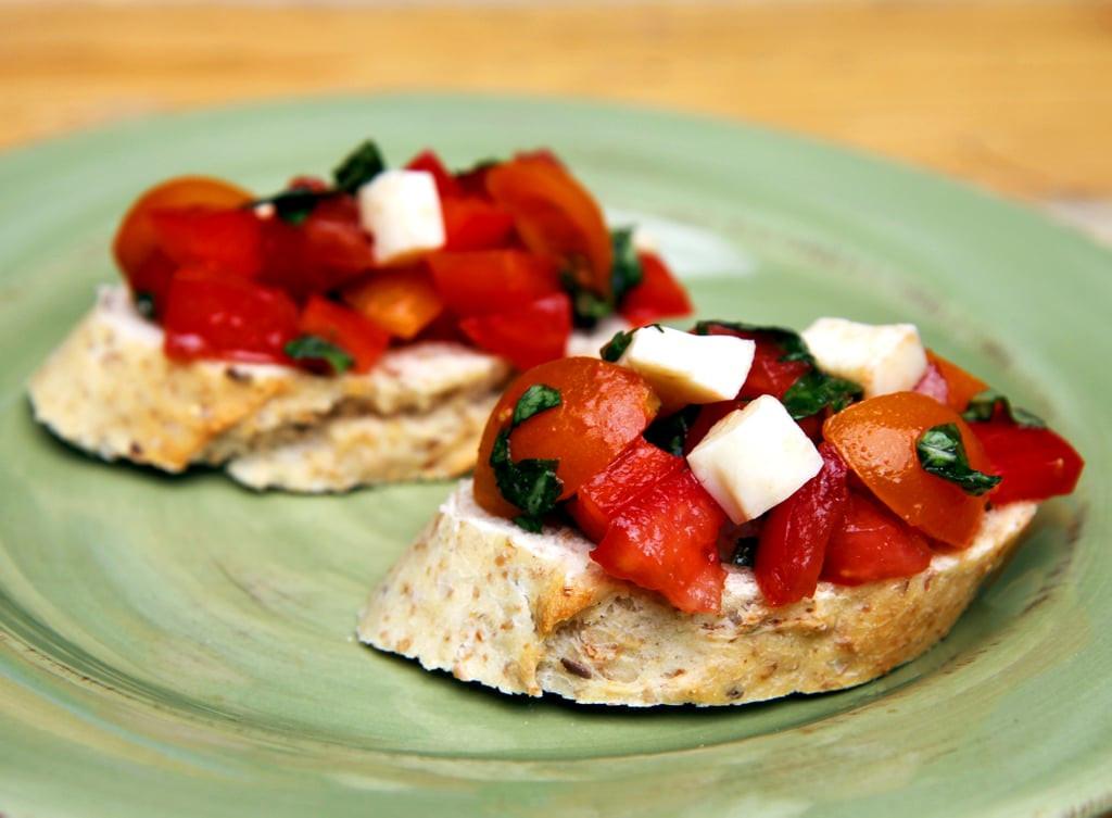 Simple Healthy Appetizers  Bruschetta Healthy Appetizers