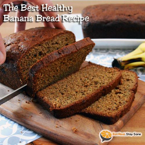 Simple Healthy Banana Bread Recipe  Easy Healthy Banana Bread Recipe