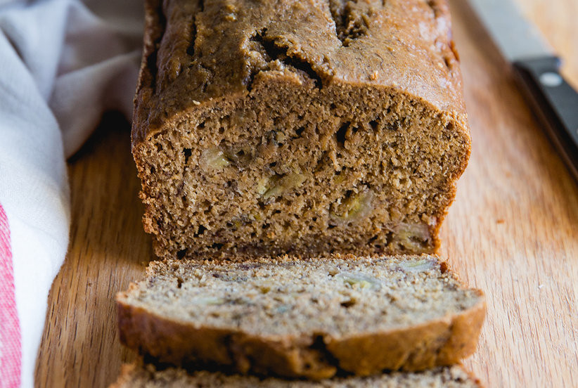 Simple Healthy Banana Bread  Healthy Banana Bread