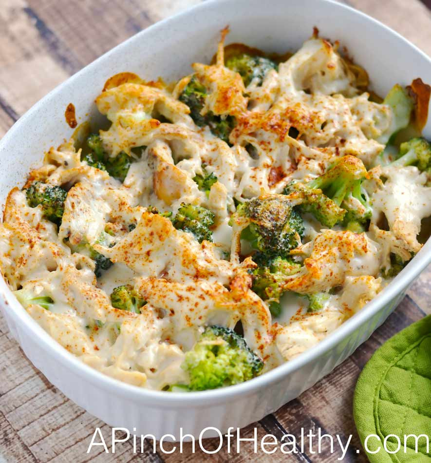 Simple Healthy Dinner Recipes  Chicken Divan Plus Video Tutorial A Pinch of Healthy