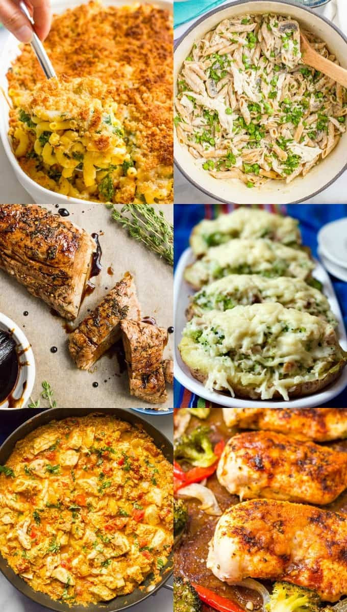 Simple Healthy Dinner Recipes  30 easy healthy family dinner ideas Family Food on the Table