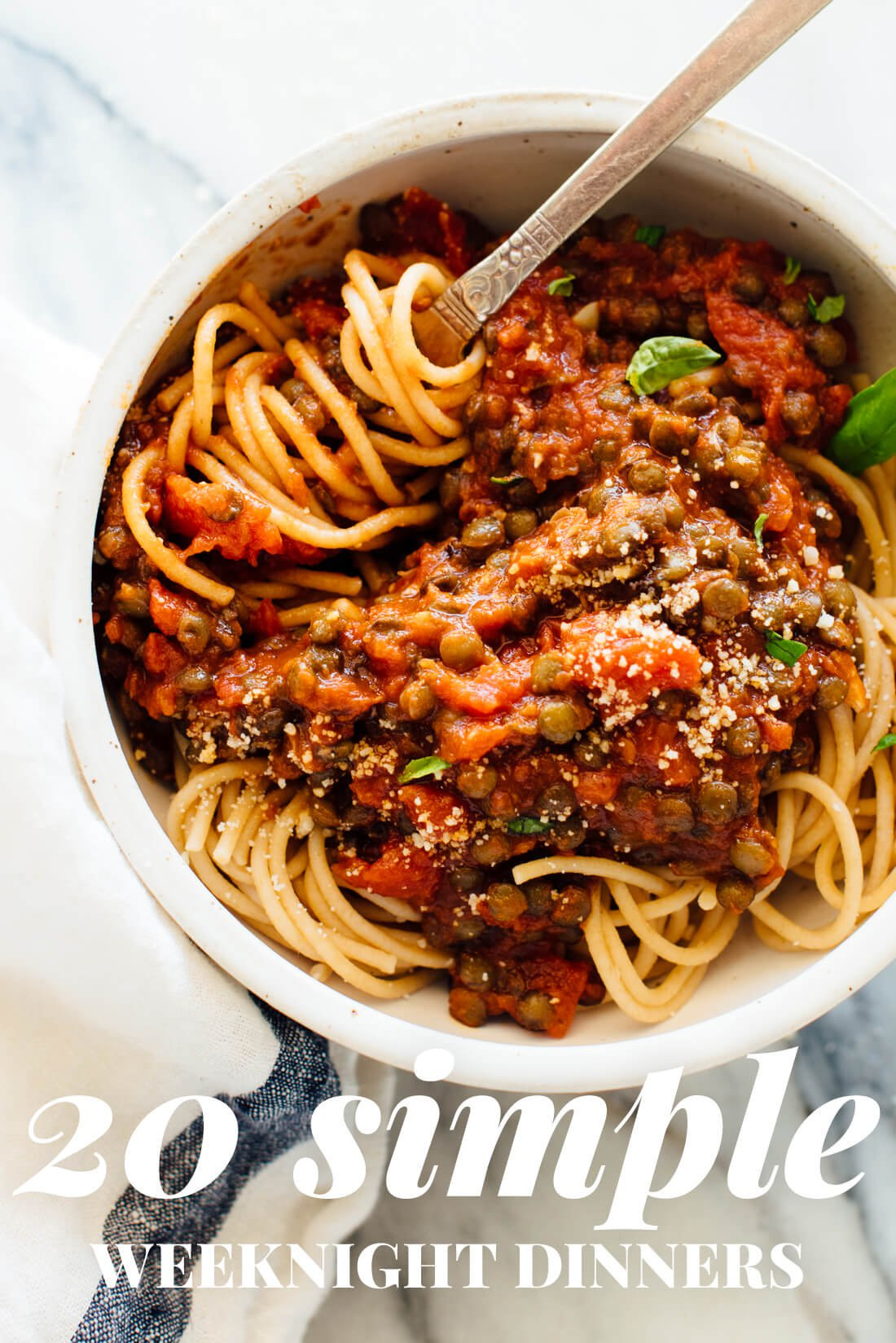 Simple Healthy Dinners  20 Simple Ve arian Dinner Recipes Cookie and Kate