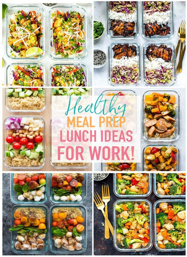 Simple Healthy Lunches  20 Easy Healthy Meal Prep Lunch Ideas for Work The Girl