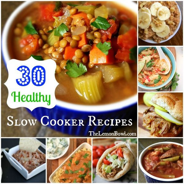 Simple Healthy Slow Cooker Recipes  Best 25 Healthy slow cooker ideas on Pinterest