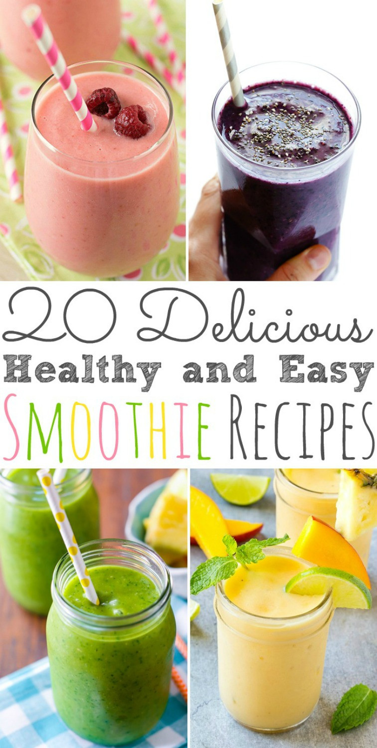 Simple Healthy Smoothie Recipes  20 Fall Breakfast Recipes