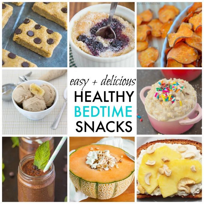 Simple Healthy Snacks  10 Quick Easy and Healthy Bedtime Snack Ideas