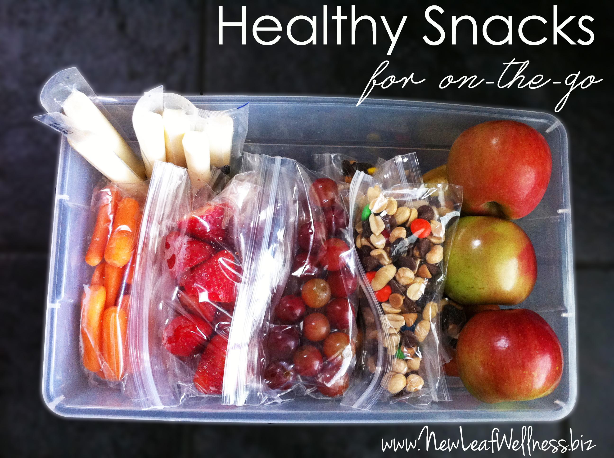 Simple Healthy Snacks  Simple healthy snacking – New Leaf Wellness