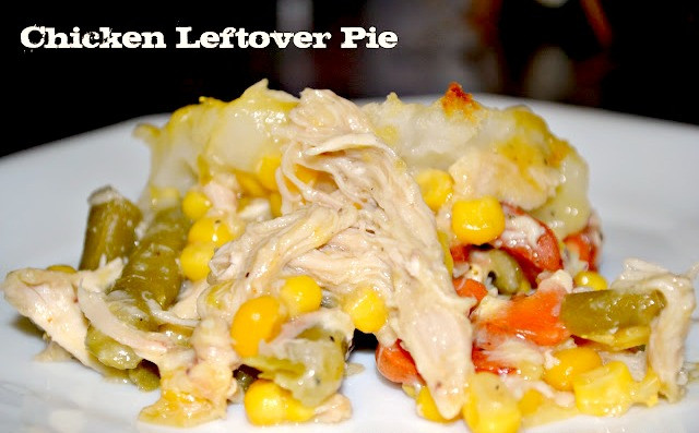 Simple Heart Healthy Recipes  Heart Healthy Leftover Chicken Pie Recipe
