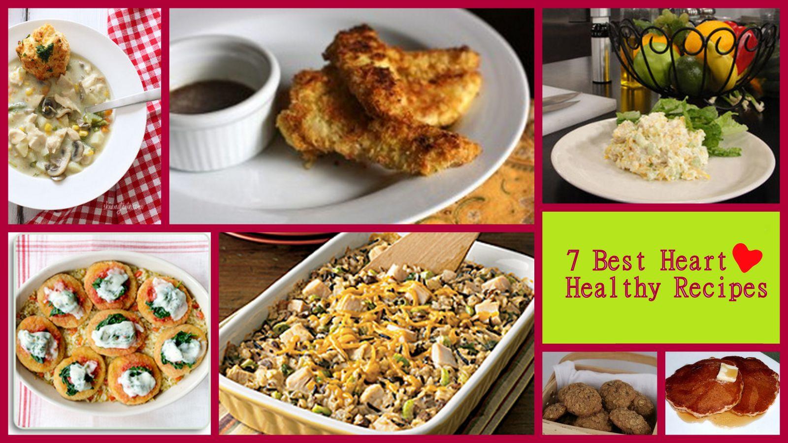 Simple Heart Healthy Recipes  heart healthy recipes easy heart healthy meals good