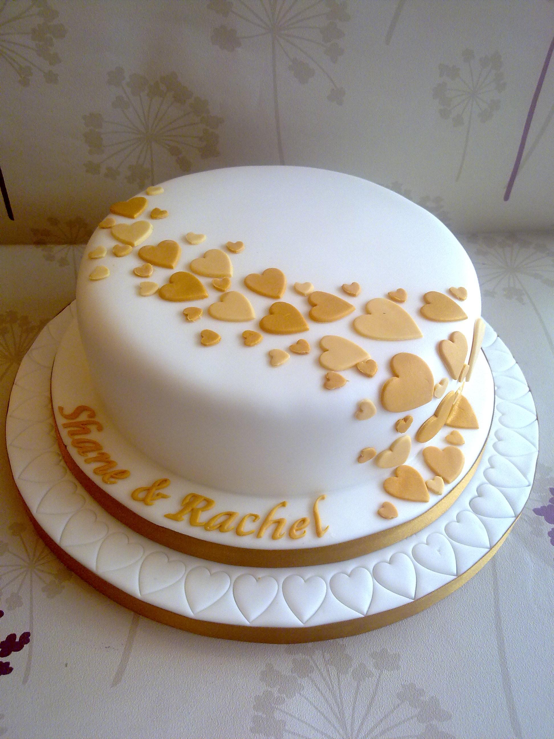Simple One Tier Wedding Cakes  e Tier Wedding Cake Beautifully Simple Ideas