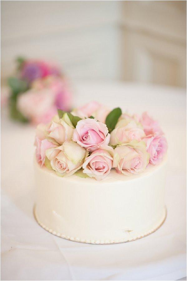 Simple One Tier Wedding Cakes  Simple 1 tier wedding cakes idea in 2017