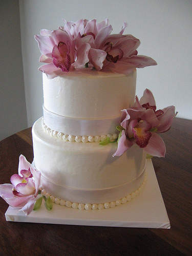 Simple Small Wedding Cakes  Small Square Wedding Cakes Ideas Small Square Wedding