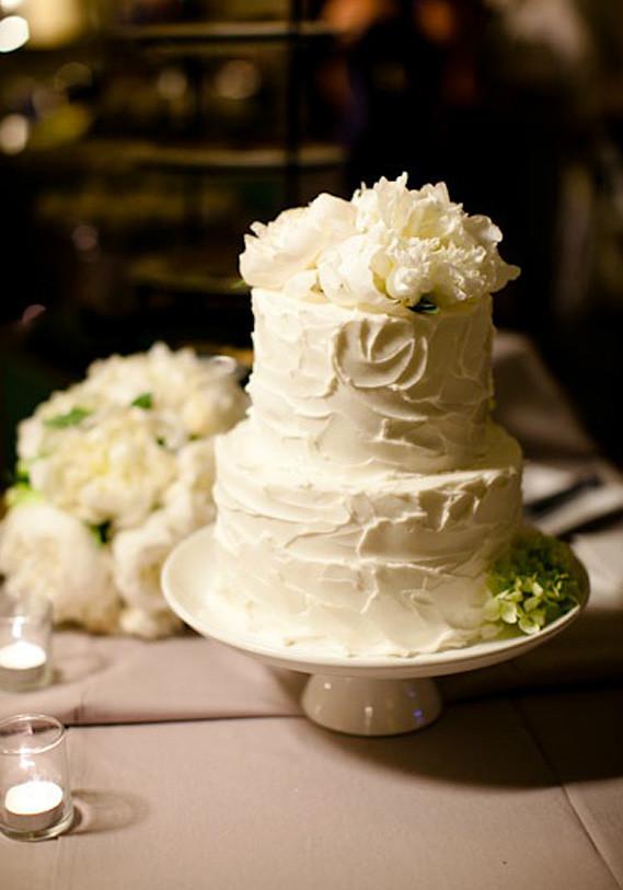 Simple Small Wedding Cakes  Celebrity Wedding Cakes
