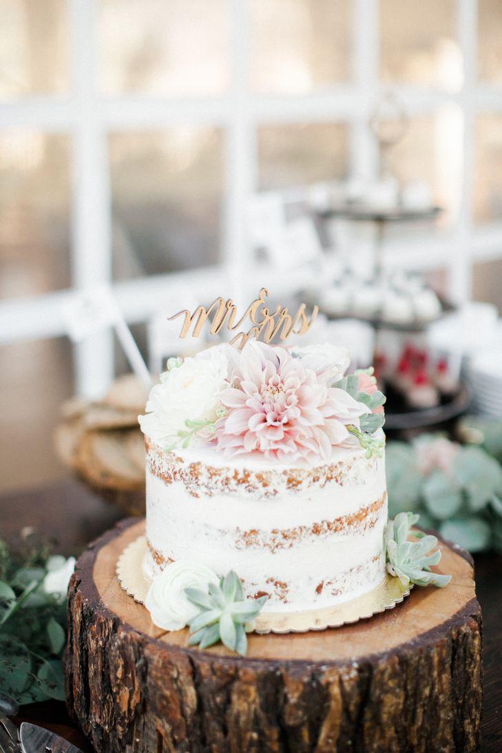 Simple Small Wedding Cakes  Simple Small Wedding Cake