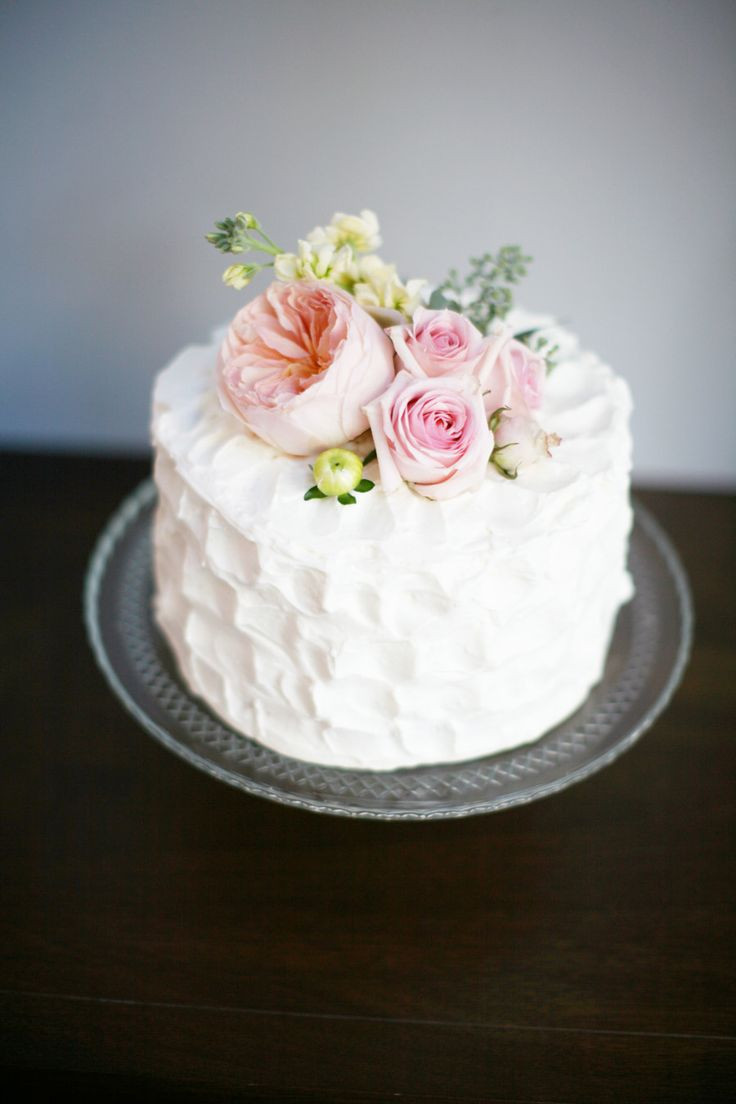 Simple Small Wedding Cakes  285 best images about Beautiful Cake on Pinterest