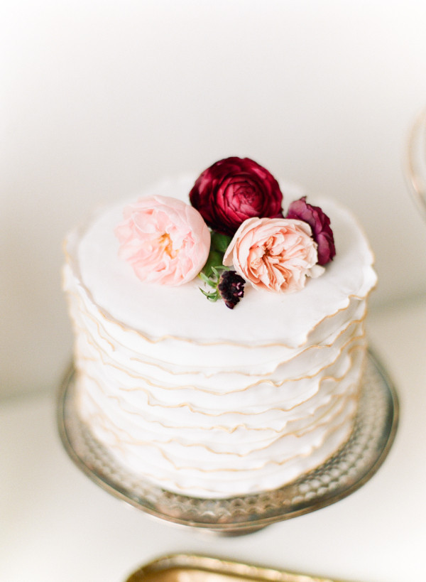 Simple Small Wedding Cakes  Small Wedding Cakes for Intimate Ceremonies Elopements
