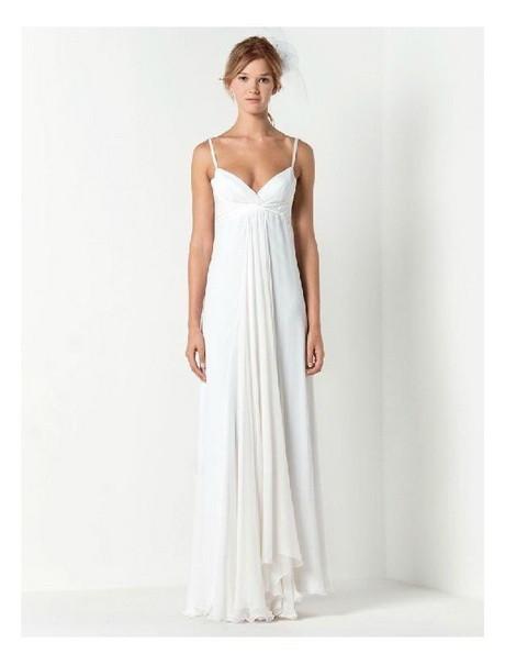 Simple Spaghetti Strap Wedding Dress  Spaghetti strap wedding dresses
