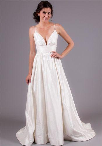 Simple Spaghetti Strap Wedding Dress  Best 25 Spaghetti strap wedding dress ideas on Pinterest
