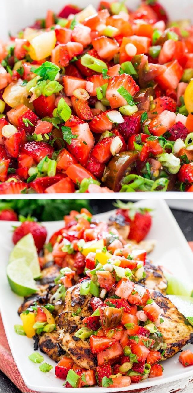 Simple Summer Dinners Recipes  Light easy summer dinner recipes Food easy recipes