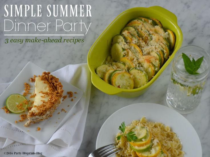 Simple Summer Dinners Recipes  329 best images about SUMMER Party Ideas on Pinterest