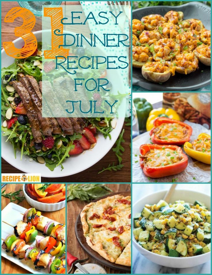 Simple Summer Dinners Recipes  202 best images about The Best Dinner Recipes on Pinterest