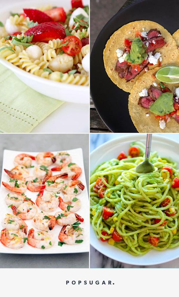 Simple Summer Dinners  Easy Summer Dinners