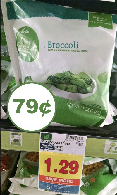 Simple Truth Organic Quinoa  Simple Truth Organic Frozen Broccoli Cuts Just 79¢ At Kroger