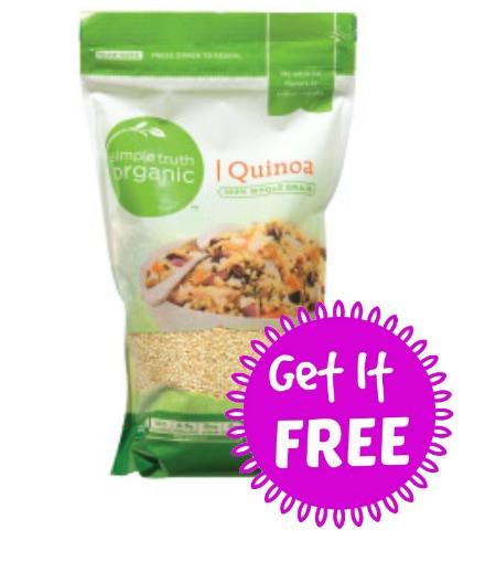 Simple Truth Organic Quinoa  Bag of Simple Truth Quinoa Free At Ralph's FTM