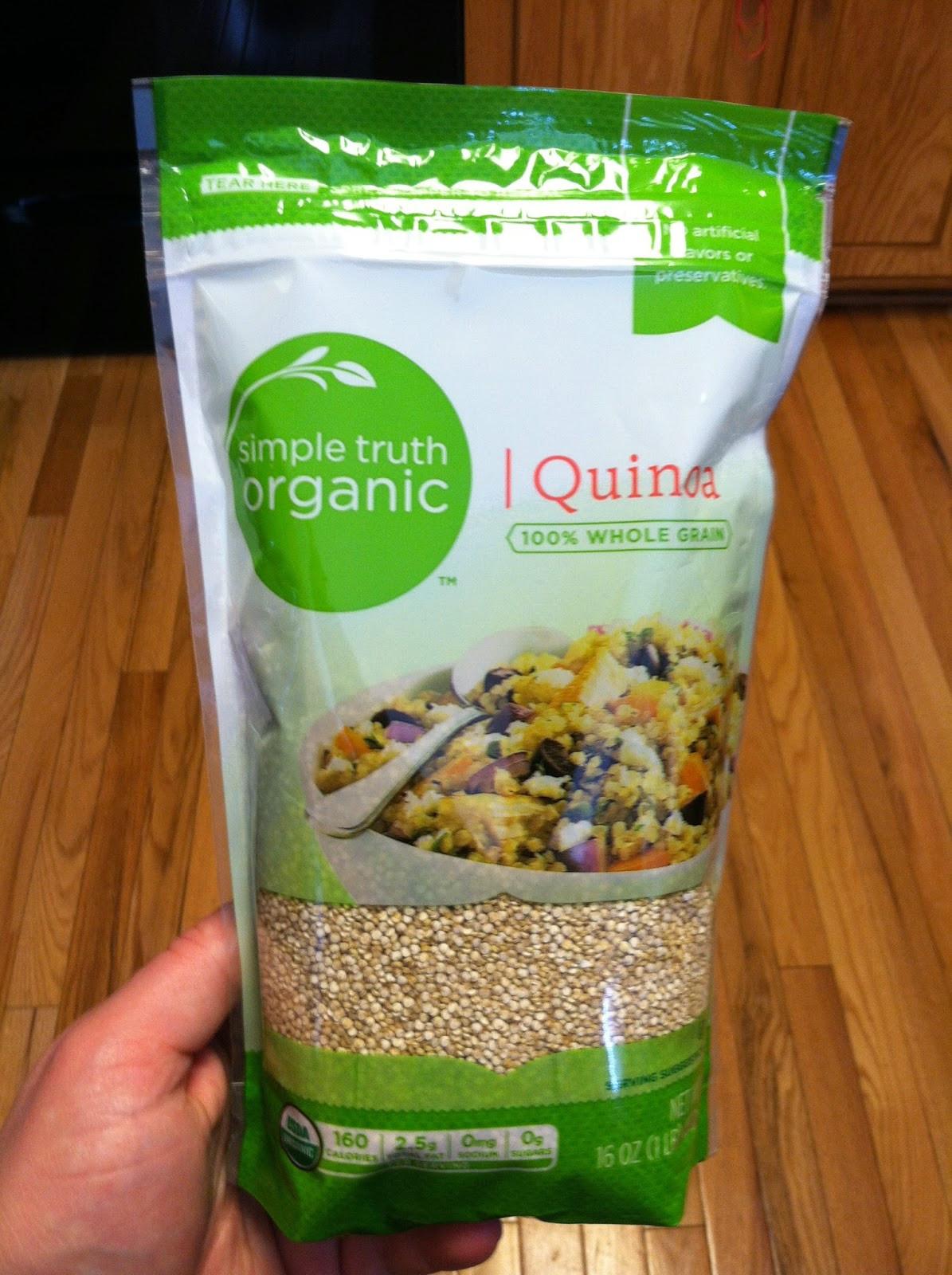 Simple Truth Organic Quinoa  No apologies gluten free Gluten free Kroger