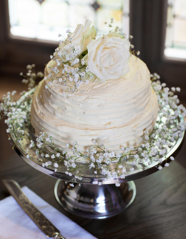 Simple Wedding Cakes  DIY Wedding How to make your own wedding cake