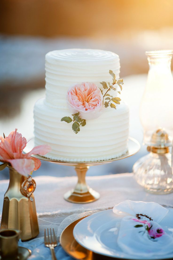 Simple Wedding Cakes  Buttercream wedding cake ideas Frosting