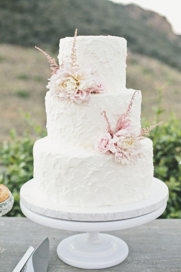 Simple Wedding Cakes  Top 15 Real Flower Rustic Wedding Cake Designs – Unique