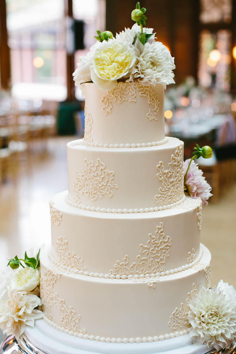 Simple Wedding Cakes Ideas  Simple Round Wedding Cake Elizabeth Anne Designs The