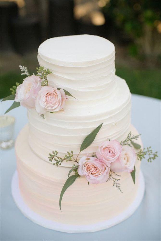 Simple Wedding Cakes Ideas  25 best ideas about Wedding Cake Simple on Pinterest