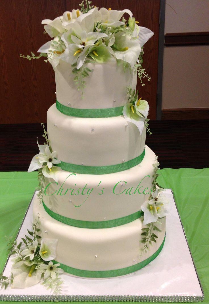 Simple Wedding Cakes Pinterest  Simple elegant wedding cake Cakes I Create