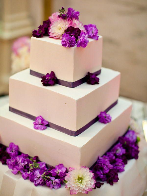 Simple Wedding Cakes  Simple Chic Wedding Cakes We Love