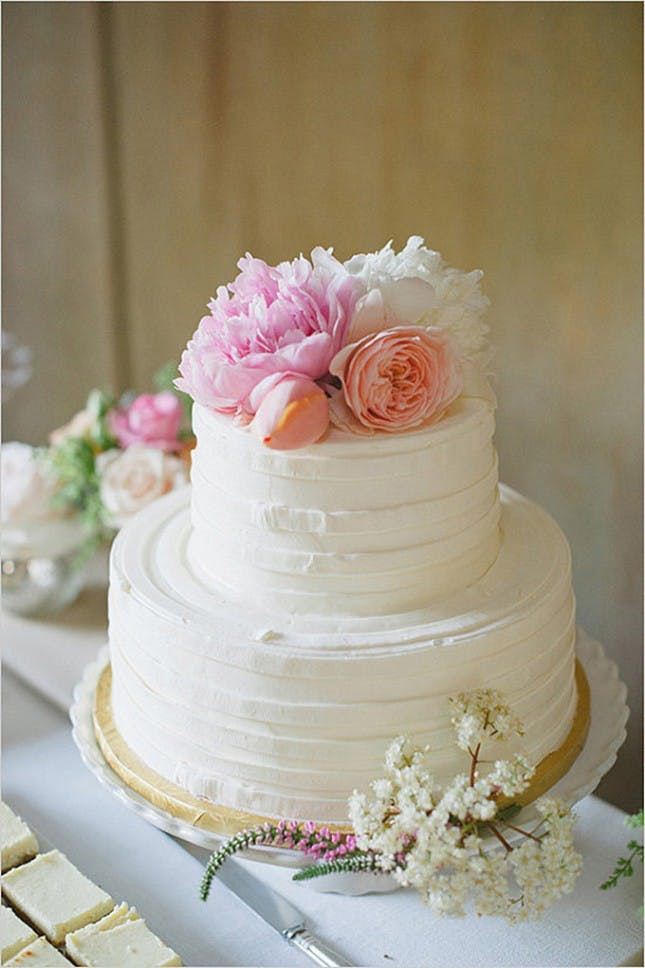 Simple Wedding Cakes With Flowers  23 Wedding Cakes Decorated With Flowers