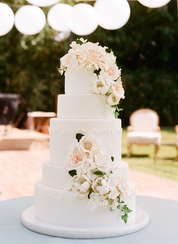 Simple Wedding Cakes With Flowers  2016 Wedding Trends 28 Wonderful Wedding Ideas With