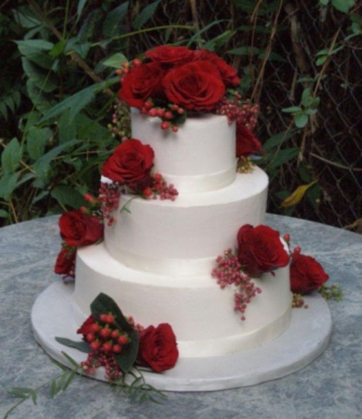 Simple Wedding Cakes Without Fondant  31 best Wedding Cakes images on Pinterest